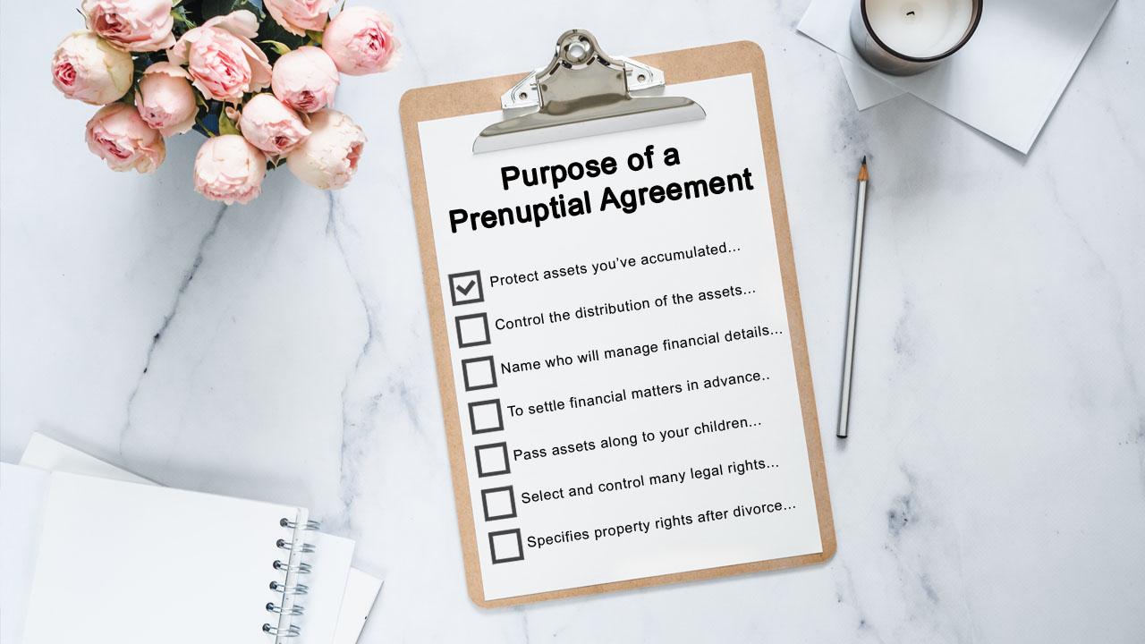 Purpose of a Prenuptial Agreement
