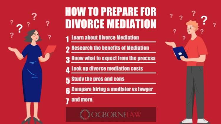 How To Prepare for Divorce Mediation