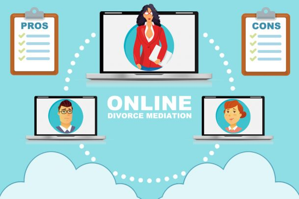 Online Divorce Mediation Pros and Cons
