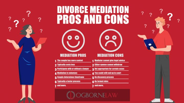 Divorce Mediation Pros and Cons